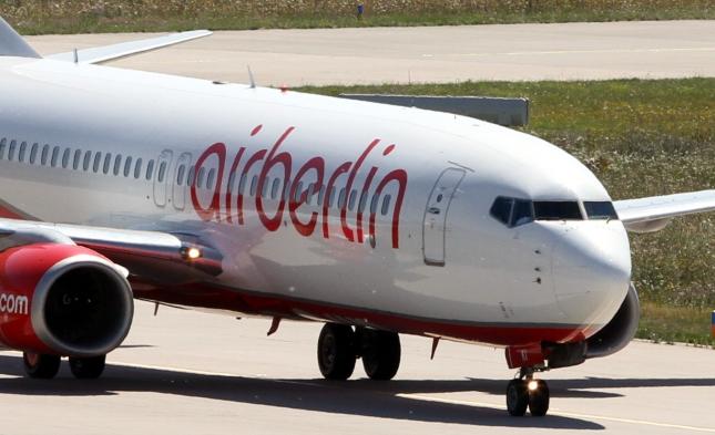 Ab Mitte der Woche Warnstreiks bei Air Berlin