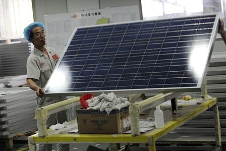 China plant massive Subventionierung der Solarenergieerzeugung