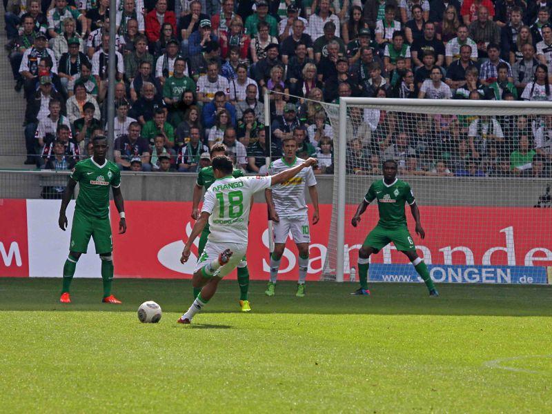 VfL Borussia Mönchengladbach –  Werder Bremen  4:1 FOTOGALERIE
