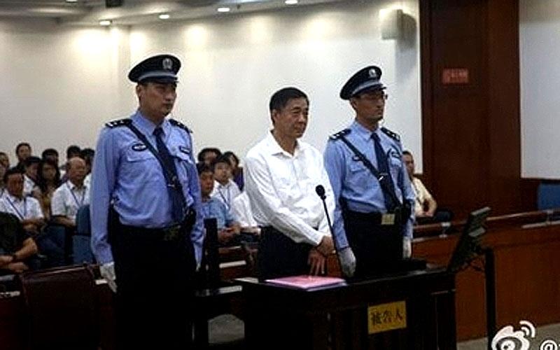 Hier wird Chinas Bo Xilai (optisch) zum Zwerg gemacht