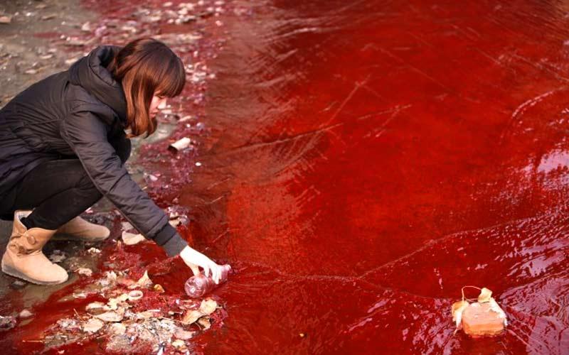 Alarmstufe Rot für das Wasser in Rot-China