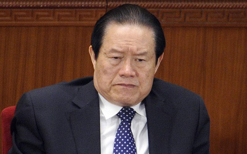 Jetzt knöpft sich Chinas Staatschef Zhou Yongkang vor