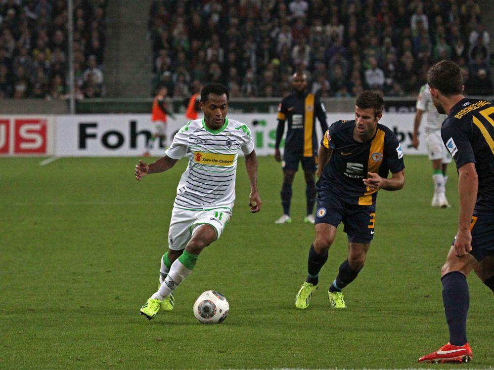 VfL Borussia Mönchengladbach –  Eintracht Braunschweig 4:1
