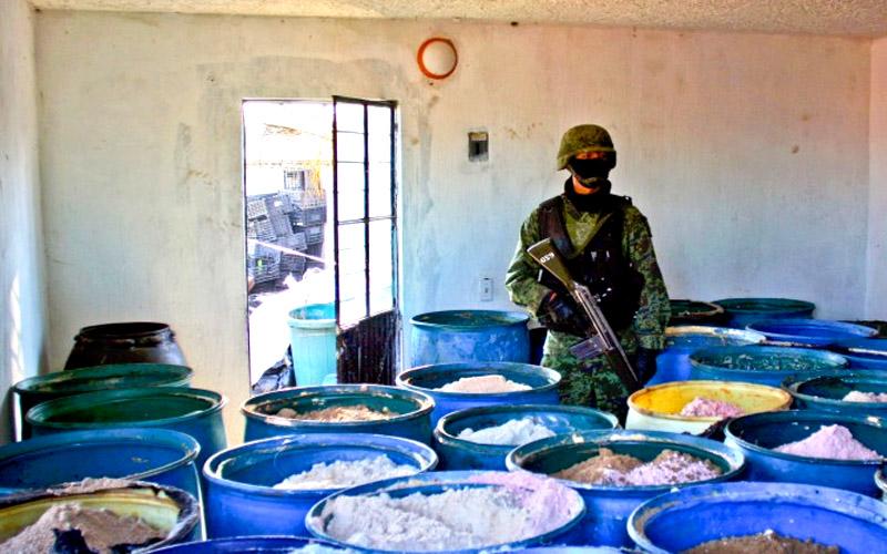 Meth-Exporte aus China heizen Drogenproblem in USA an