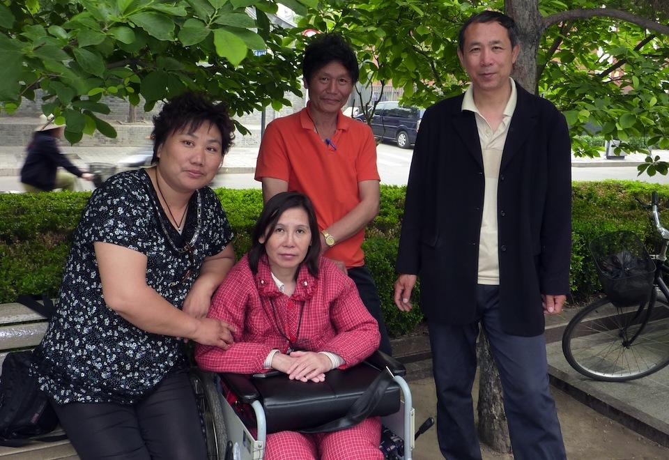 Chinesische Bürgerrechtlerin Ni Yulan aus der Haft entlassen