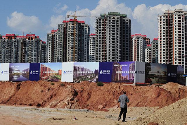 So sieht es in der Geisterstadt Ordos in der Inneren Mongolei aus: Hier ist die Immobilienblase bereits geplatzt. Foto: Mark Ralston AFP / Getty Images
