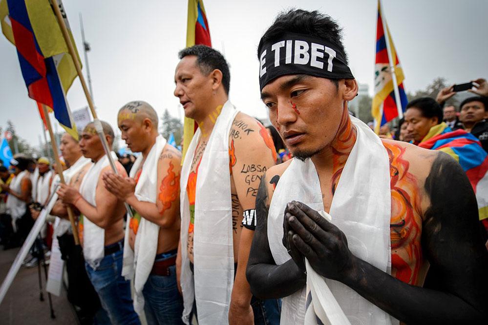 Bürger-Proteste gegen China in UN-Menschenrechtsausschuss