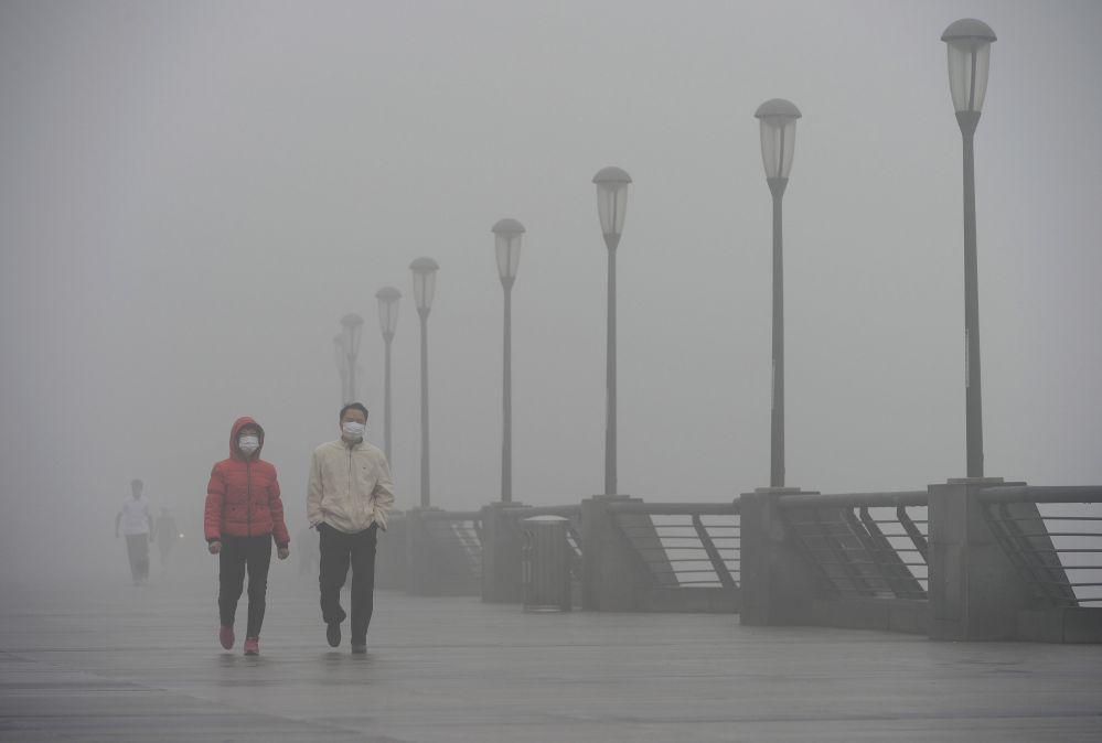 In China will man mit flüssigem Stickstoff gegen Smog kämpfen
