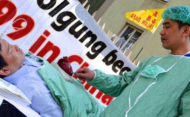 Die Europäische Union hat gestern ein historisches Zeichen gegen Chinas staatlichen Organraub gesetzt.  Foto: Florian Godovits / Epoch Times