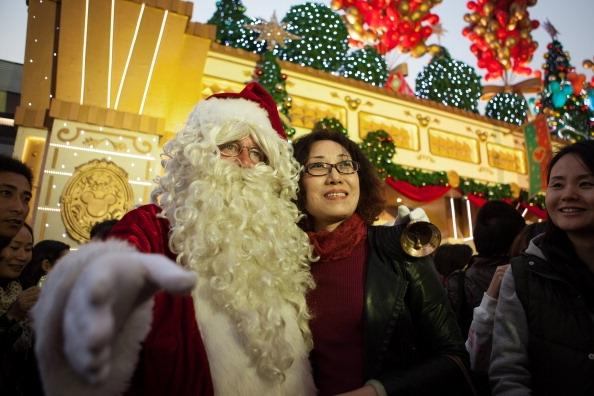 Was Chinesen über Weihnachten in China denken