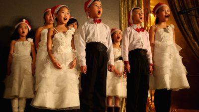 So skurril ist Weihnachten in China