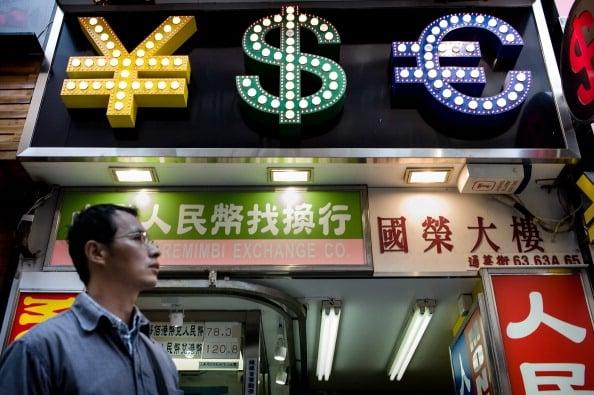Börse, Immobilienblase und Geldmangel werden laut Niu Dao Chinas Finanzmarkt bald zum kollabieren bringen. Foto: PHILIPPE LOPEZ /