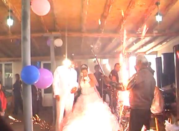 Hochzeitsfeier: Achtung Feuerwerk! (+Video)