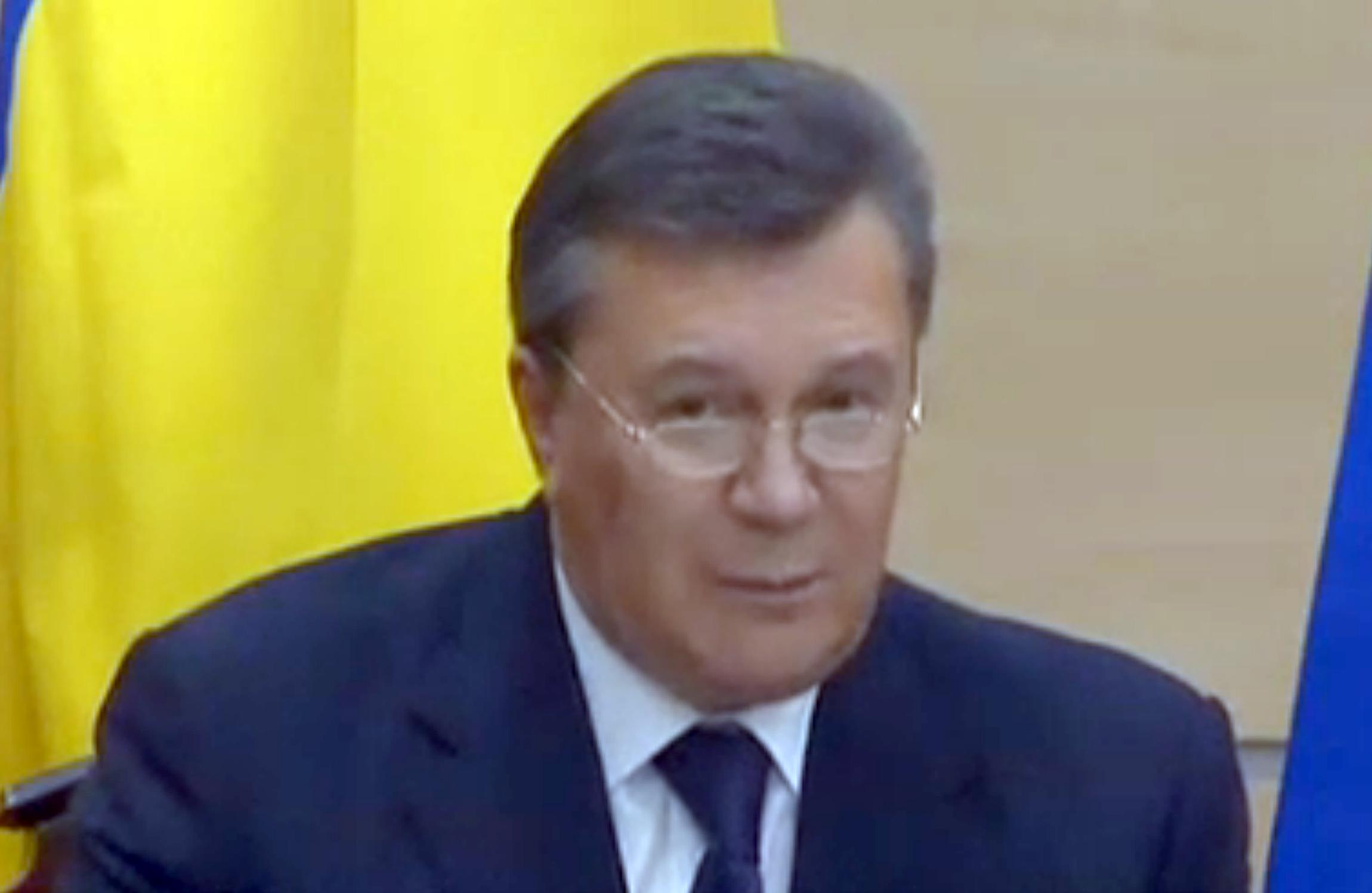 Viktor Yanukowitsch: Ich bin der ukrainische Präsident!