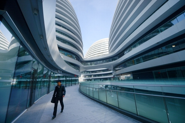 Wegen der Schattenbanken steckt Chinas Finanzsystem in der Sackgasse der Überschuldung. Foto: WANG ZHAO/AFP/Getty Images
