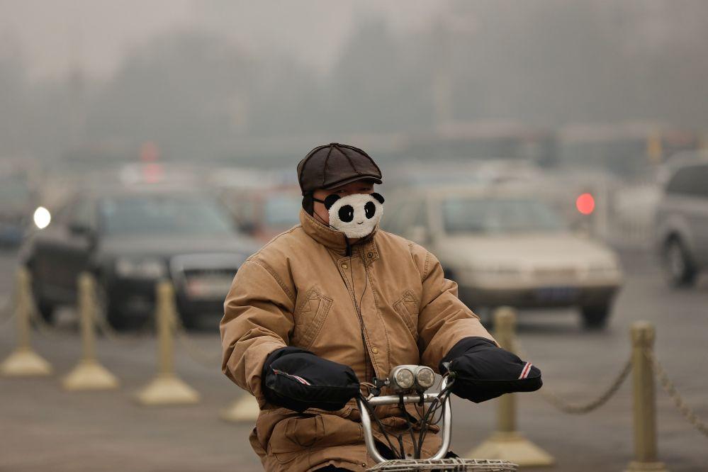 Smog in China: Zweithöchste Alarmstufe für 400 Millionen Menschen