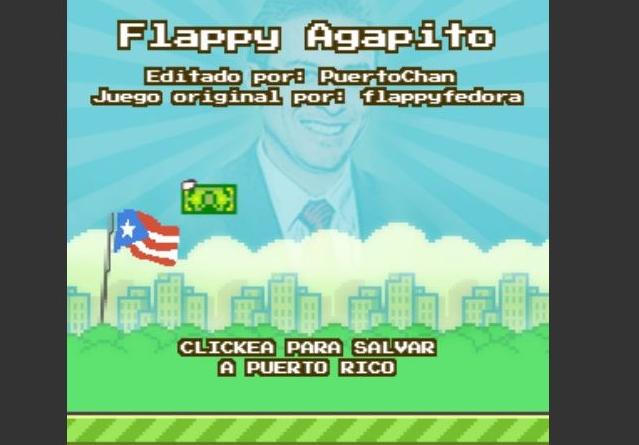 """""""Flappy Bird""""-Scherz: """"Flappy Agapito"""" wurde nach Puerto Ricas Gouverneur benannt"""