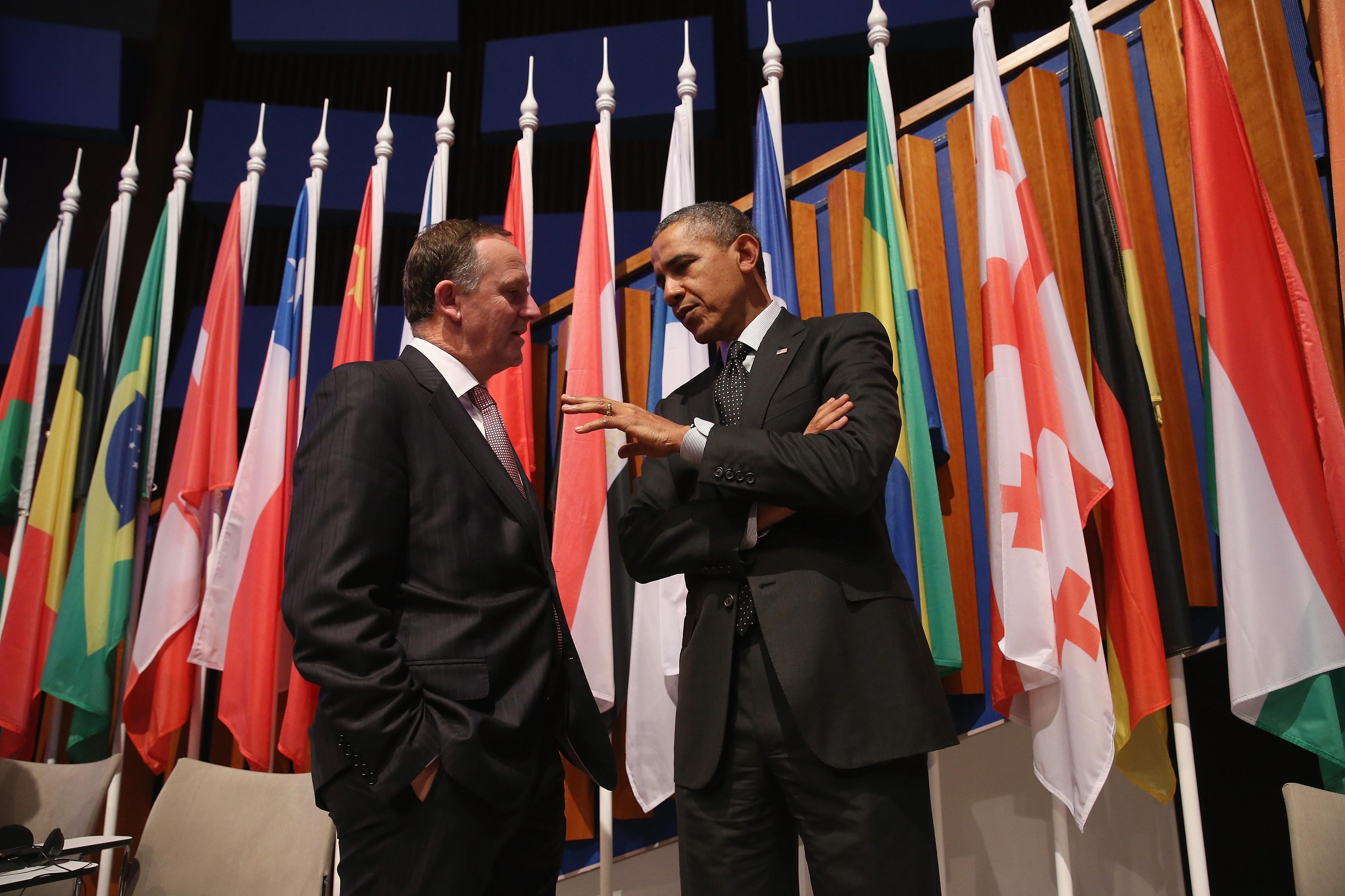 """Obama: """"Russland ist nur eine """"regionale Macht"""", ein nuklearer Anschlag auf Manhattan ist eine größere Bedrohung"""""""