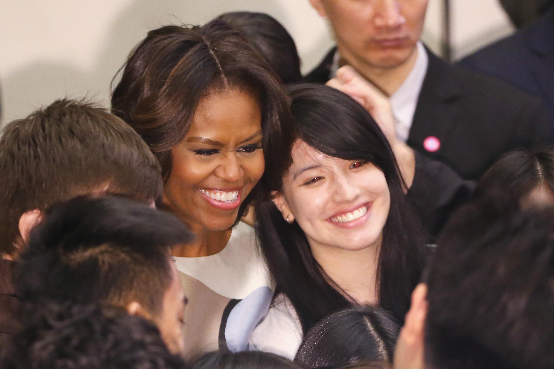 Michelle Obama in China: Lady-Diplomatie zur Unterstützung Xis