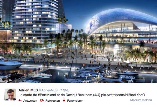 Miami: Das ist David Beckham´s geplantes Fußballstadium (+Fotos)