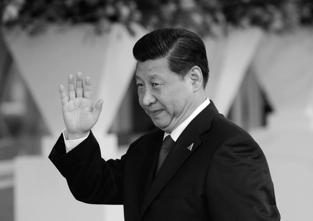 Xi Jinping und die Vertreter von Meinungsfreiheit