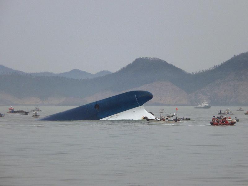 Gesunkene Fähre in Südkorea – noch 290 Vermisste (Fotogalerie)