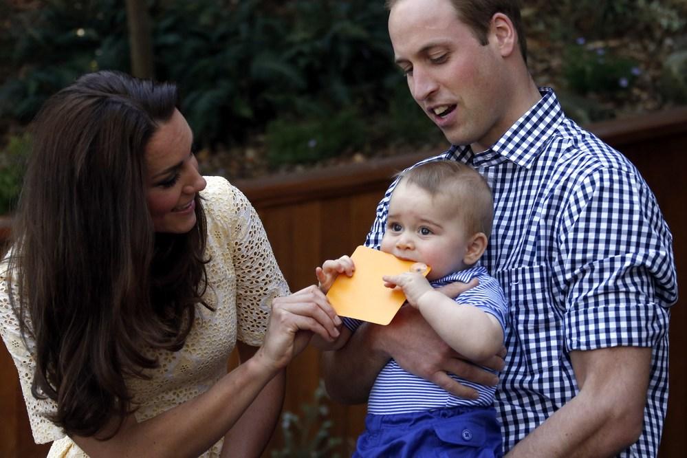 Prinz William und Prinz George sind die neuen Trendsetter