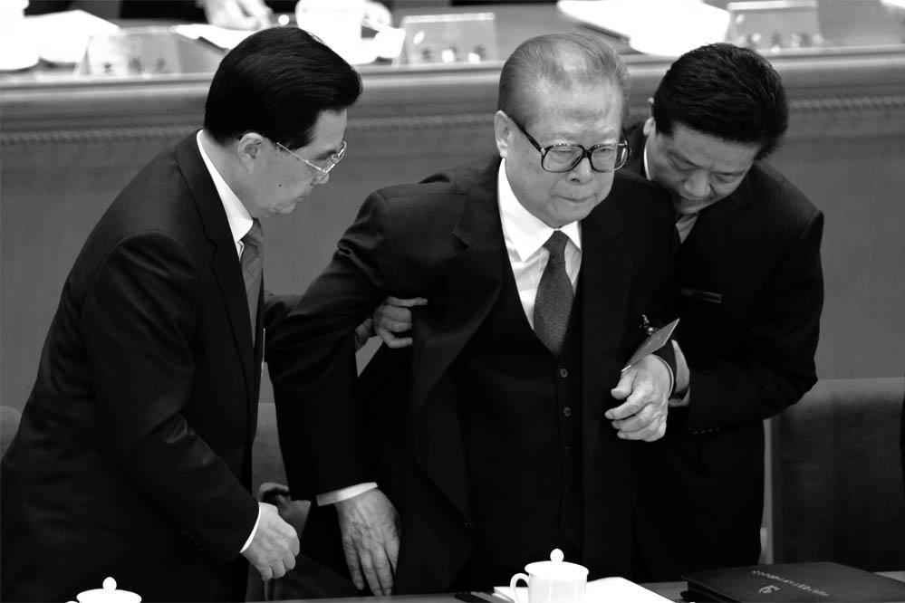 Mit letzter Kraft: Chinas Ex-Diktator Jiang Zemin (87) zeigt sich öffentlich