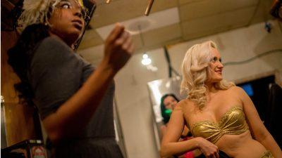 Fit durch Spaß! Ein Burlesque-Workshop bei Olgadance in Berlin