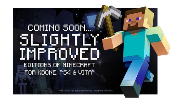 Minecraft Xbox One, PS4 Erscheinungsdatum, Gameplay, aktuelle Preise; Welten sind 36-mal größer auf Next-Gen