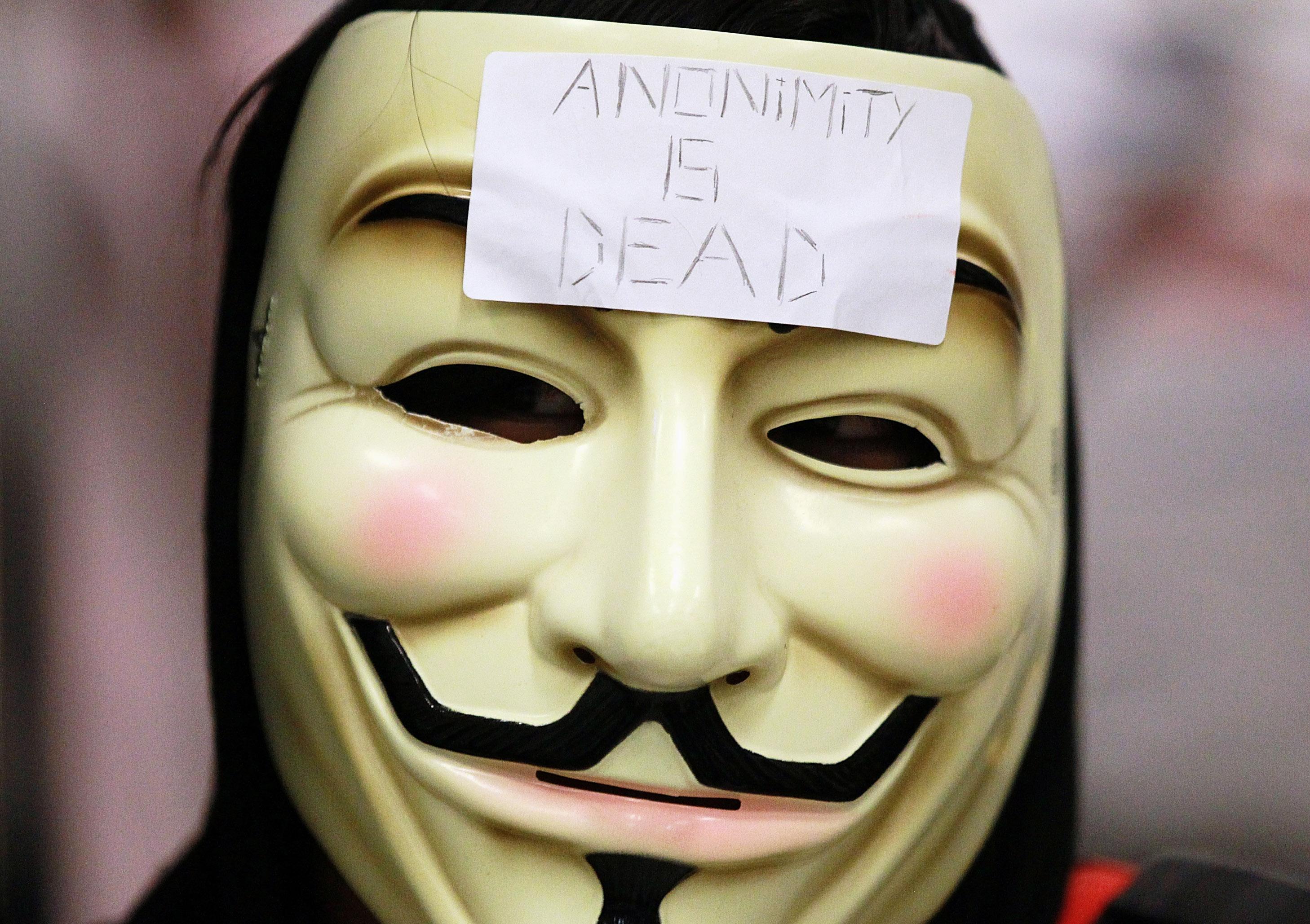 Anonymous: Operation-Blitzkrieg legte mehrere NPD-Seiten lahm