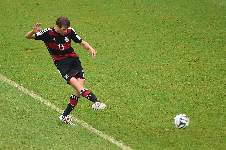 Deutschland gegen USA: Müller's Tor in der 54. Minute (Video)