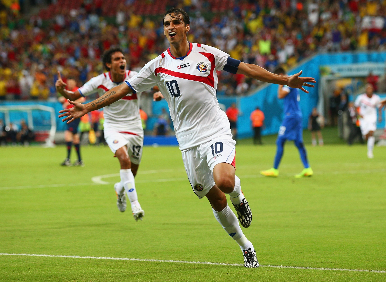Costa Rica gegen Griechenland (Update): Tor von Bryan Ruiz und Sokratis Papastathopoulos schießen Costa Rica und Griechenland in Gleichstand 1:1 (Videos)