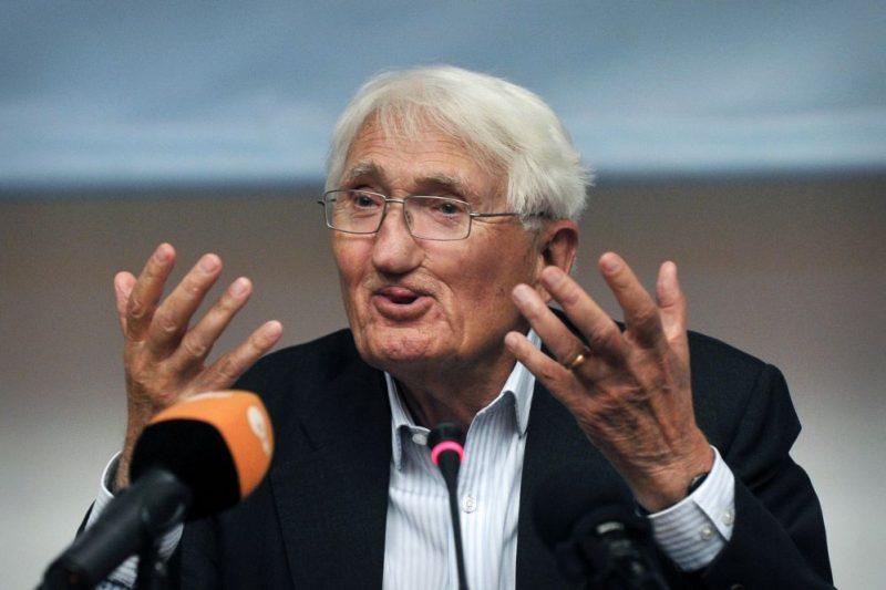 Arabische Jury bedauert Ablehnung des Kultur-Preises durch Jürgen Habermas