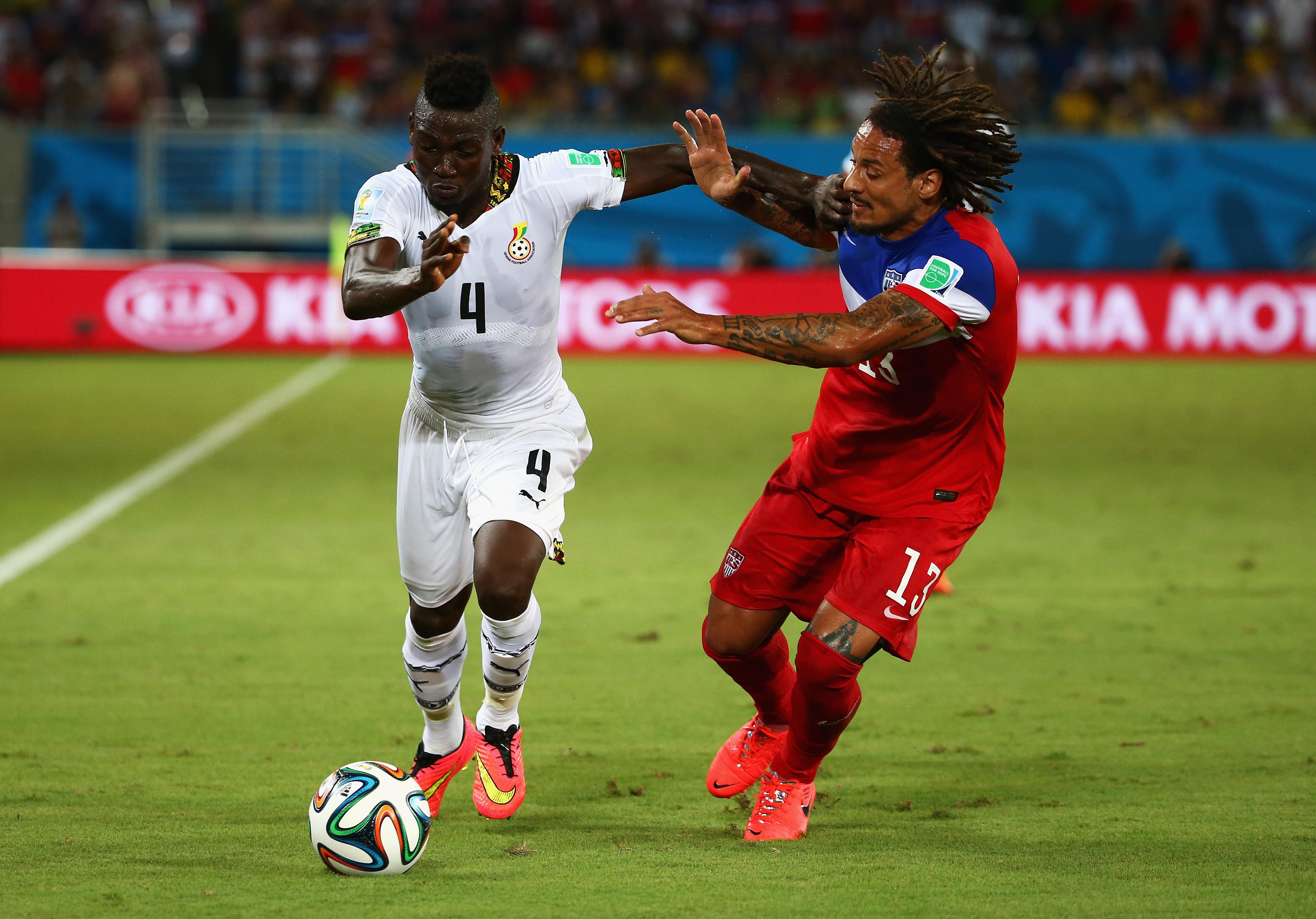 Mittelfeldspieler Jermaine Jones: als zweitbester U.S. Spieler ausgezeichnet
