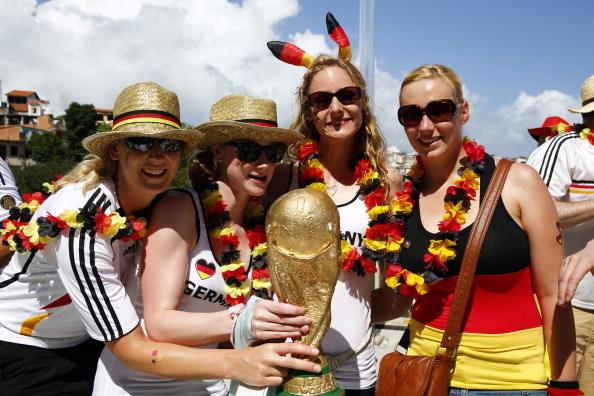 Impressionen: Fußball WM Deutschland besiegt Portugal 4 : 0