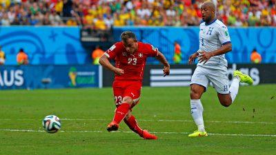 Schweiz gegen Honduras: Der Schweizer WM-Star Xherdan Shaqiri schießt drei Tore! (Video)