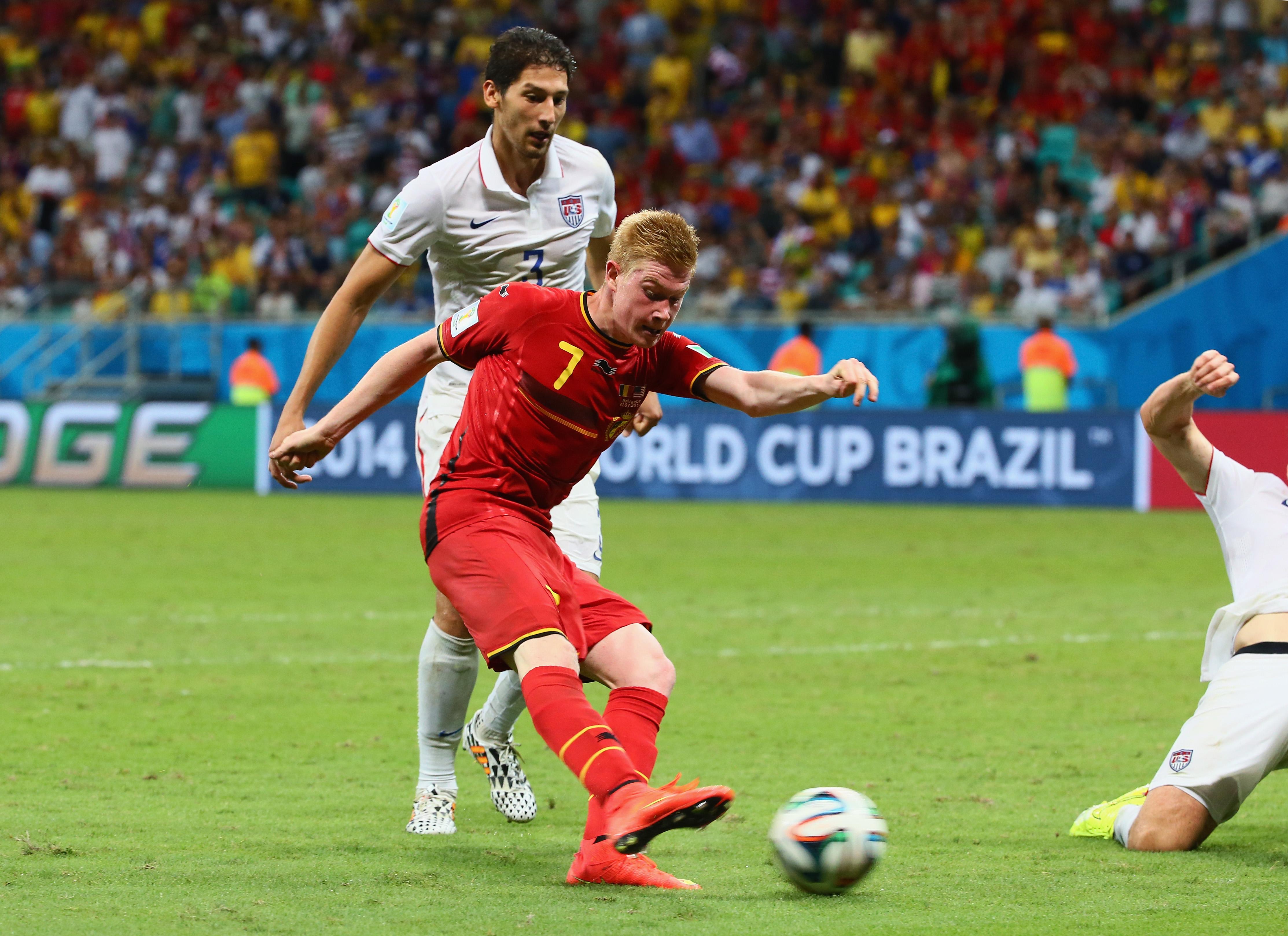 Belgien gegen USA: Tor von Kevin De Bruyne schießt Belgien in die Führung (Video)