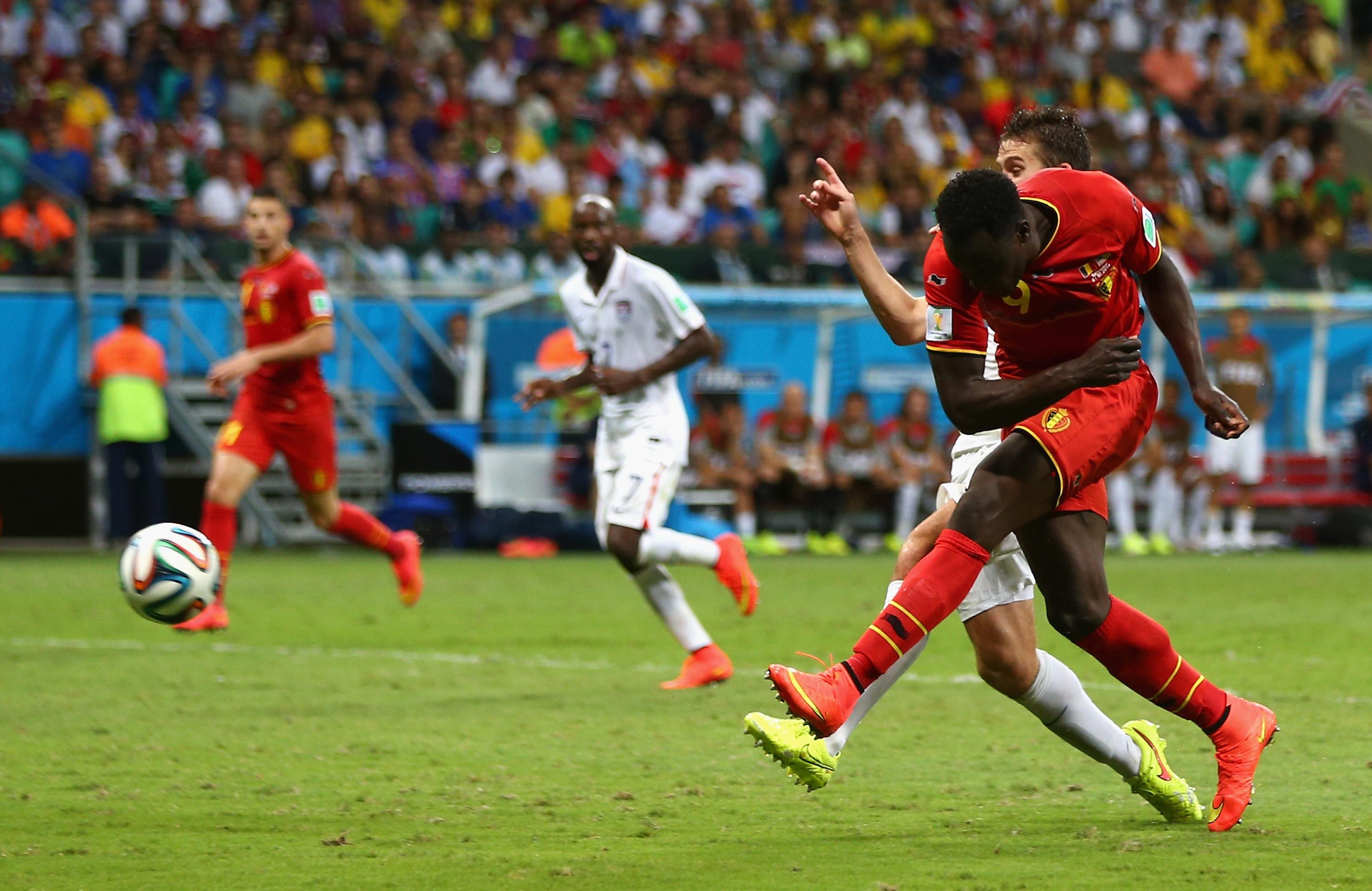 Belgien gegen USA: zweites Tor für Belgien durch Romelu Lukaku (Video)