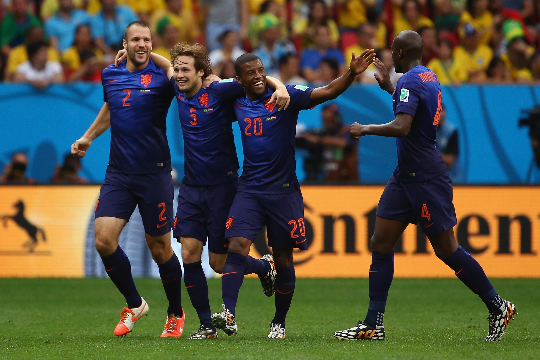 Zweites Tor für die Niederlande gegen Brasilien durch Daley Blind (Video)