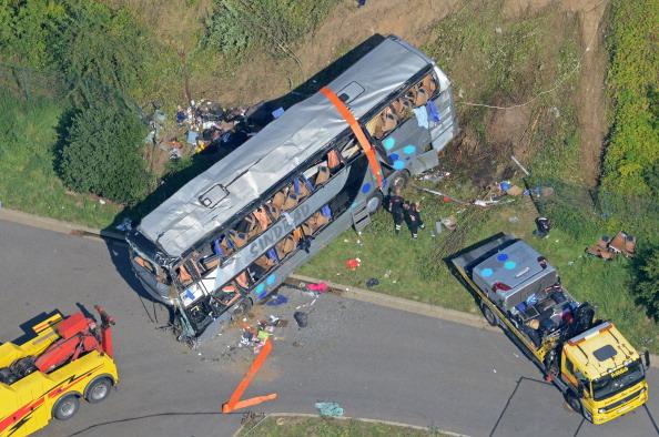 Schwerer Unfall auf A4 bei Dresden (Update): 9 Tote und 55 schwer Verletzte – Fahrspur Richtung Chemnitz schon frei