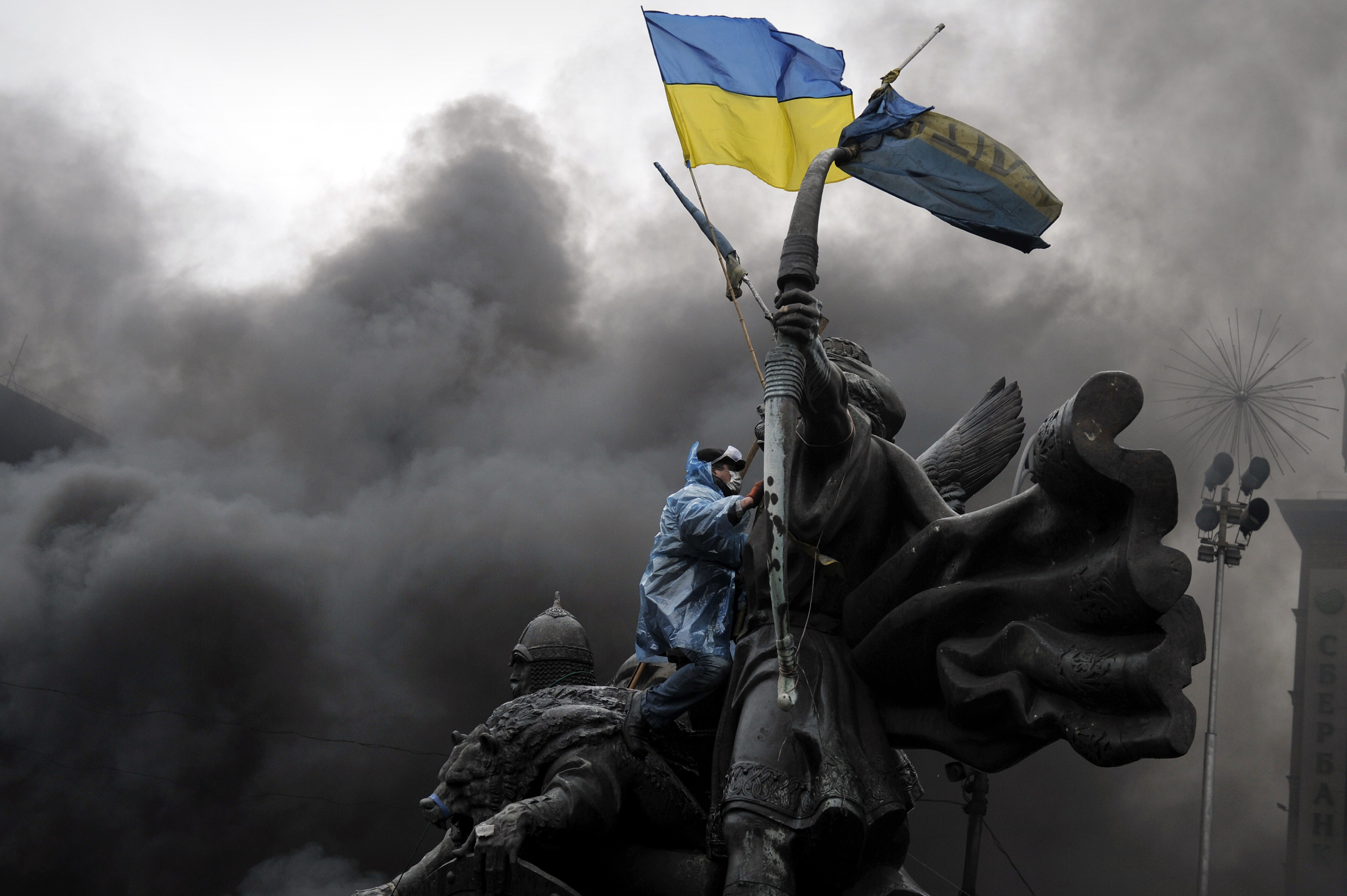 Ukraine Krise: Zwei ukrainische Kampfflugzeuge von Separatisten abgeschossen