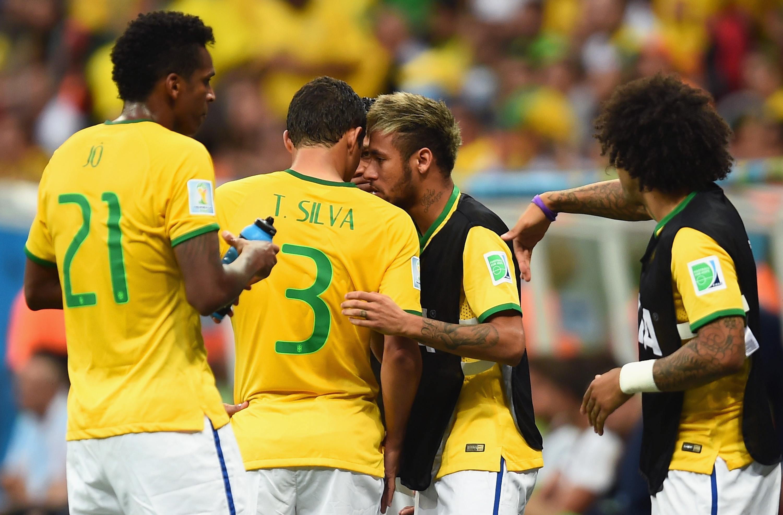 Brasilien gegen Niederlande: Super-Star Neymar beim Spiel um Platz 3 auf der Ersatzbank (Fotos)
