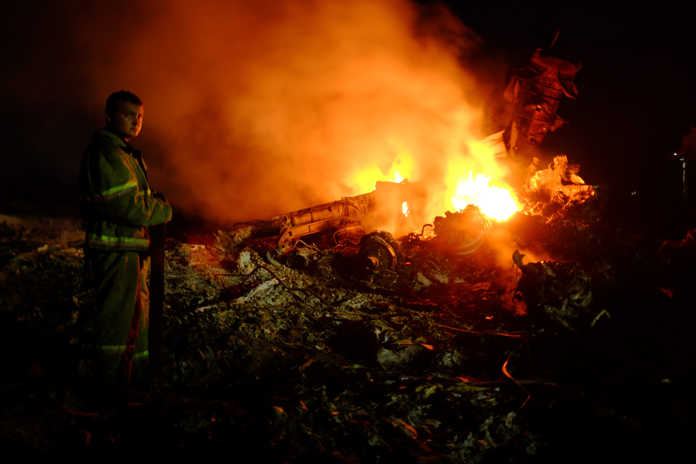 """Analyse zu MH 17: """"Prorussische Rebellen schossen Malaysia Airlines 'versehentlich' ab"""""""