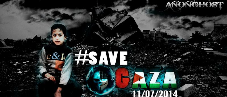 Protest gegen Gaza-Bombardierung: Anonymous hackt israelische Webseiten (+Video)