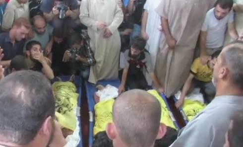 Israel: Vier palästinensische Kinder am Strand von israelischen Raketen getötet (Video+Tweets)