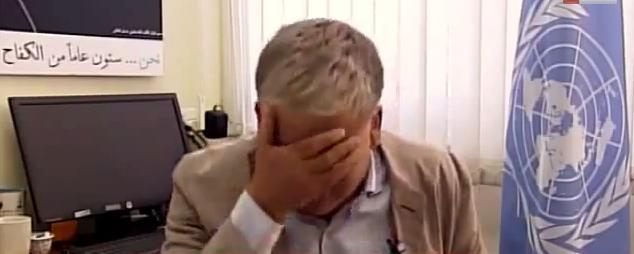 Israel-Gaza Konflikt: Granatenangriff auf Schule in Gaza; UN-Sprecher bricht in Tränen aus (+Video)