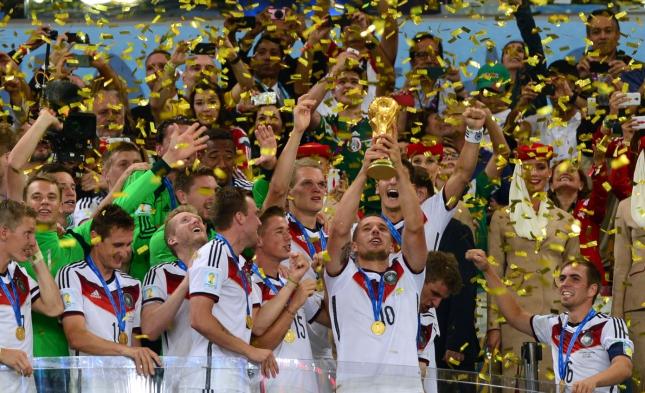 Weltmeister-Team in Berlin gelandet
