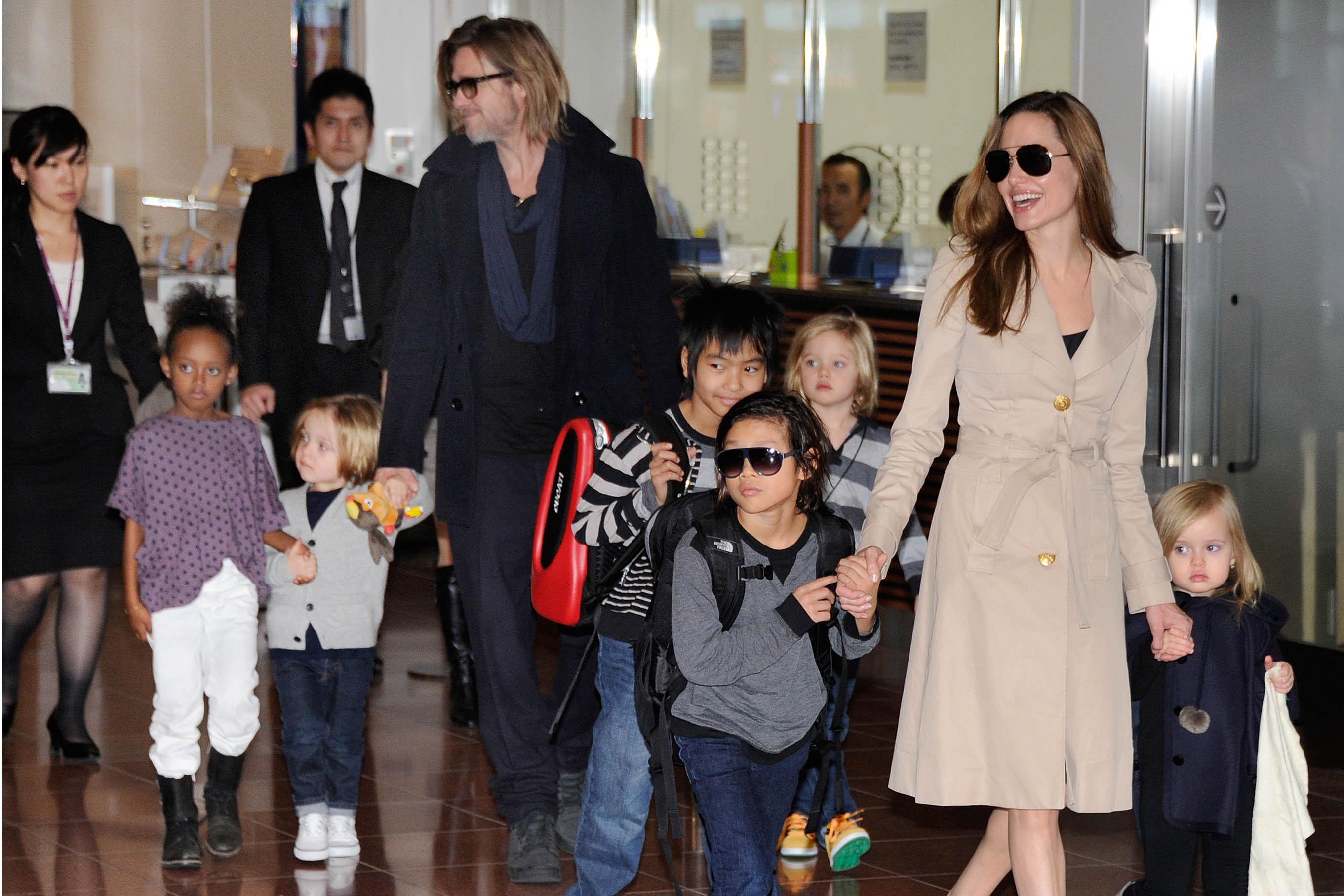 """Familie """"Brangelina"""": Das sind die Kinder von Angelina Jolie und Brad Pitt (Namen, Alter)"""
