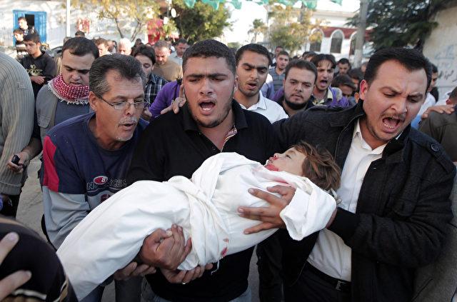 Völkermord in Gaza Foto: SAID KHATIB/Getty Images